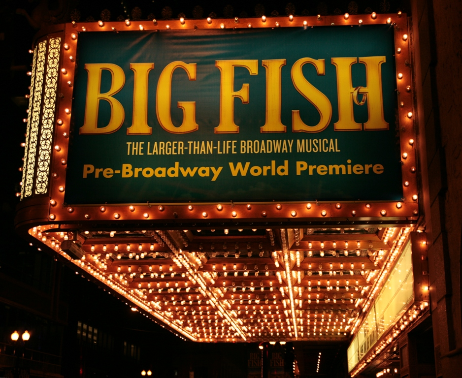 Andrew lippa s st james concert adds west end performers for Big fish musical soundtrack