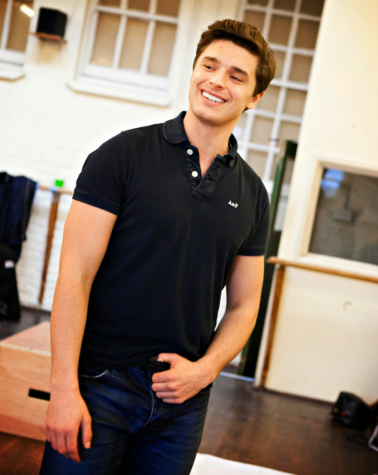 Ashley Day in rehearsals for the National tour of OKLAHOMA! credit Pamela Raith